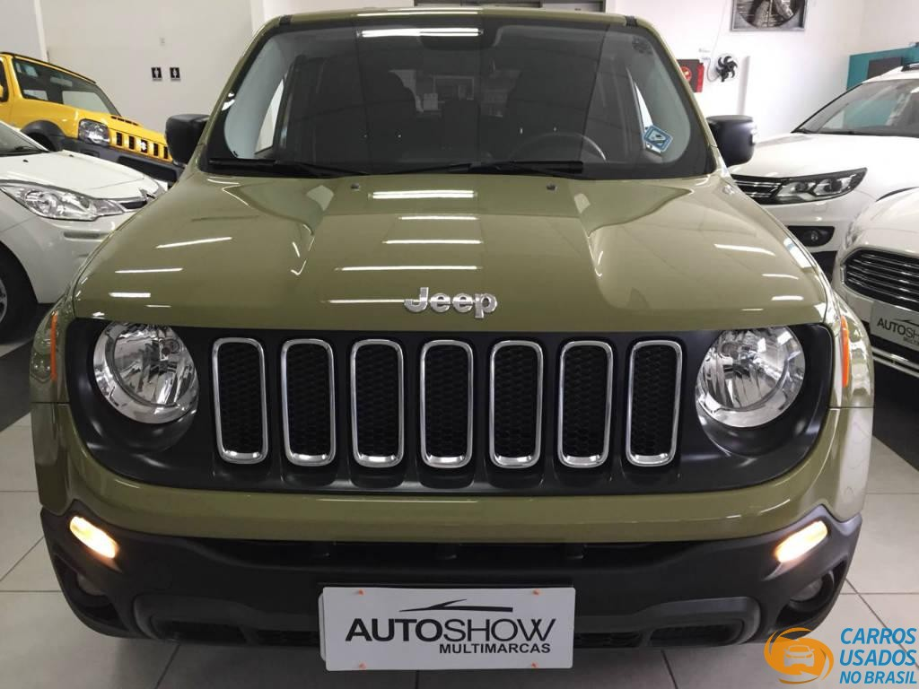 Jeep Renegade Sport 1 8 Diesel 2016 2016 Carros Usados No Brasil