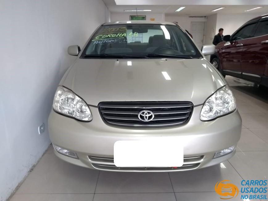 Carros Usados Toyota >> Toyota Corolla Xei 1 8 16v Gasolina 2002 2003 Carros